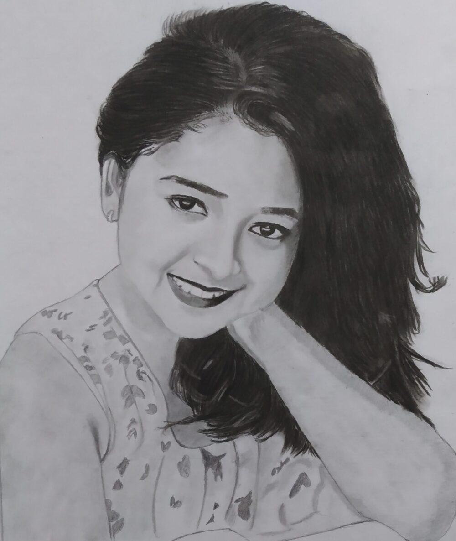Rashi Shinde Pencil Sketch