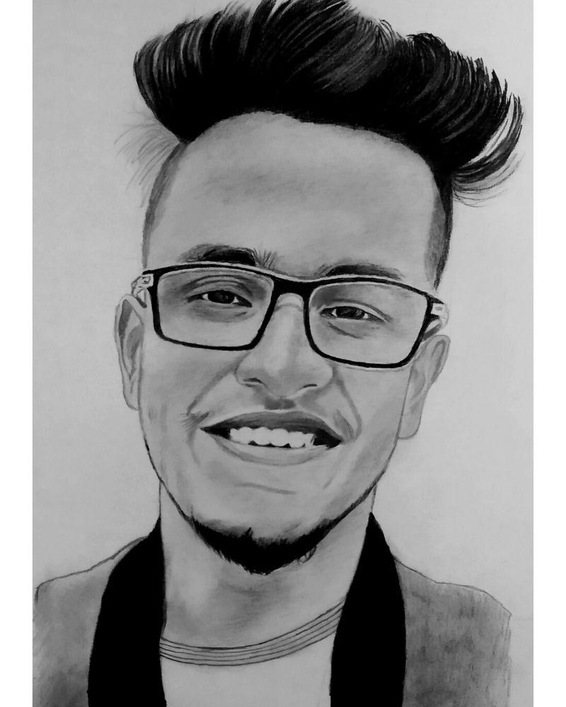 Triggered Insaan Sketch - Anil Raikwar Arts