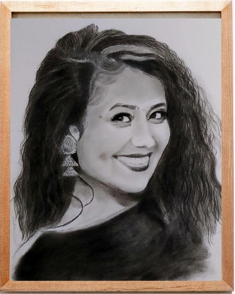 Graphite Pencil Sketch - Anil Raikwar Arts
